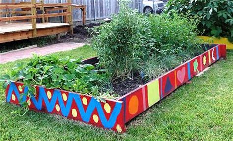 raised vegetable garden raised bed gardening