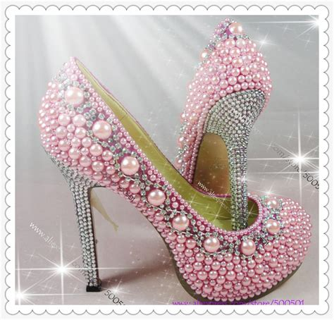 high heels with pearls high heels shoes pink pearl proforma pumps