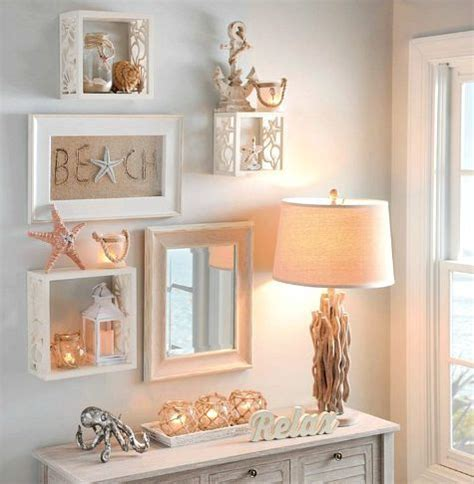 strand themen badezimmerideen decorative coastal cube shelves http www completely