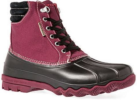 sperry top sider the avenue duck boot in for lyst