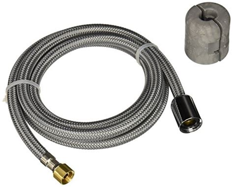 moen kitchen faucet hose compare price to moen faucet replacement hose tri slona org