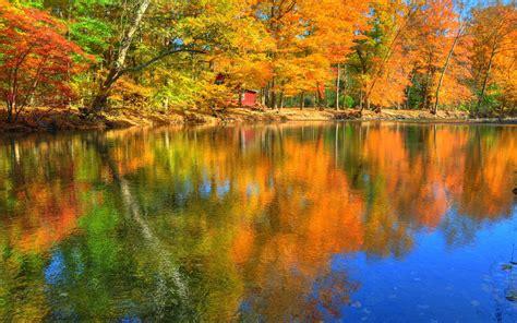 desktop themes reflections download free 1920x1200 reflections of autumn desktop
