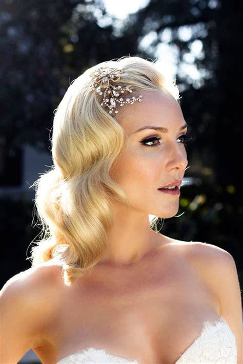 Vintage Wedding Hair Fringe by The 6 Month Wedding Plan Wedding Hairstyles The