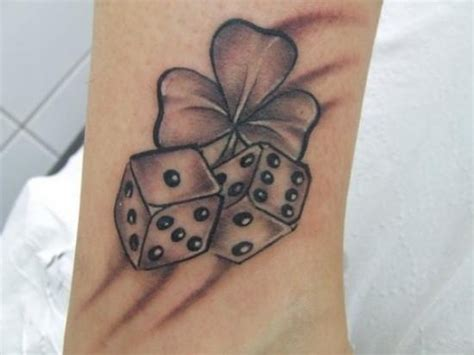 lucky dice tattoo 30 best dice designs to try with