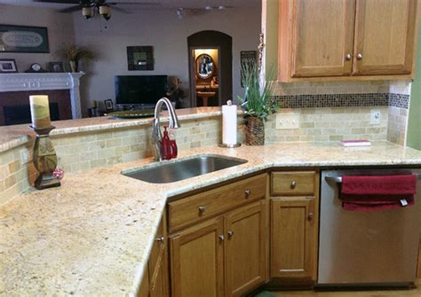 Colonial Countertop by Colonial Gold Granite