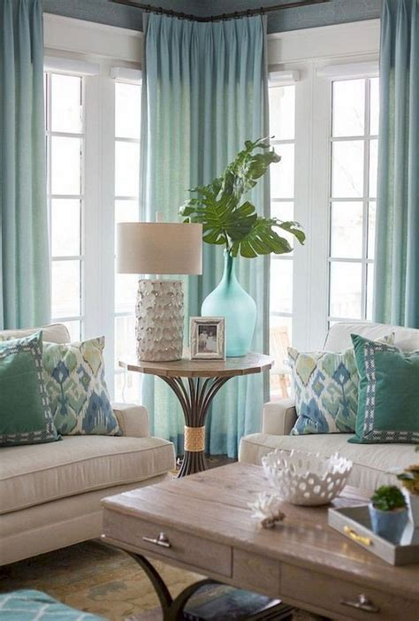 coastal comfortable living room findzhome