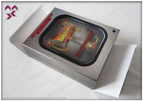 back to the future flux capacitor box set shelter destination point for back to the future trilogy box 30th anniversary