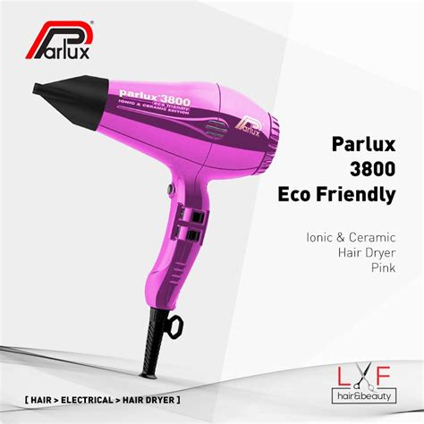 Parlux 3800 Ionic Hair parlux 3800 eco friendly ionic ceramic hair dryer pink
