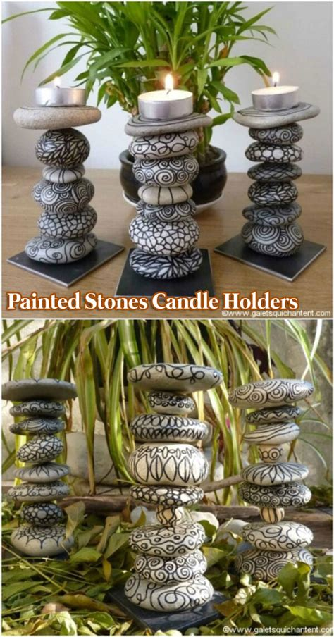 home decor stones diy painted stone decorations you can do amazing diy
