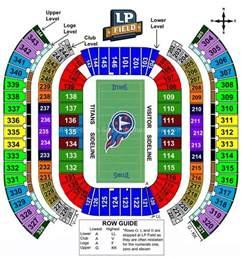 Nissan Stadium Capacity Nissan Stadium Nashville Tn Seating Chart View