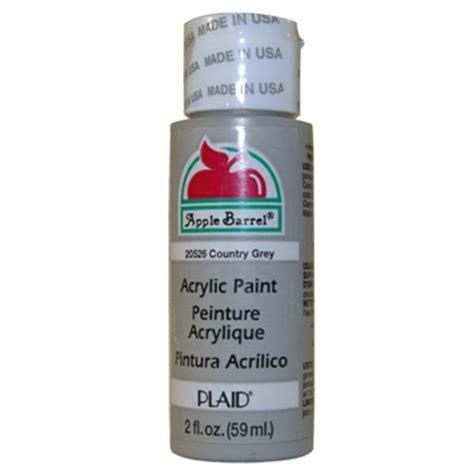 acrylic paint grey apple barrel matte country grey acrylic paint 2 oz bottle