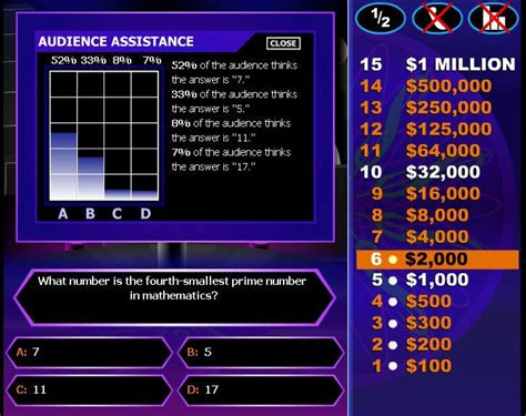 who wants to be a millionaire teaching template 2nd