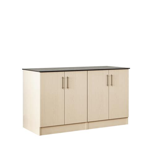 outdoor cabinets home depot weatherstrong key west 59 5 in outdoor cabinets with countertop 2 door and 2 drawer in sand