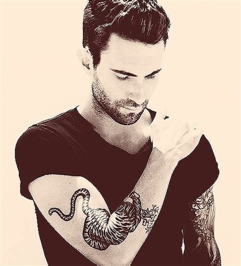 adam levine tiger tattoo 17 best images about eye on daryl