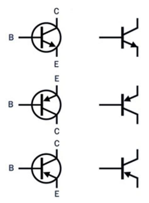 transistor npn pnp symbol the meaning of bipolar transistor