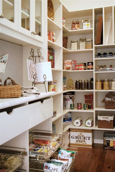 walk in pantry shelves 25 great pantry design ideas for your home