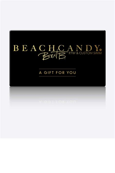 Best Gift Card For Women - beachcandy swimwear gift card gift cards