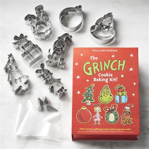 christmas grinch survival kit the grinch cookie kit williams sonoma