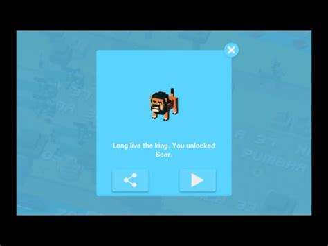 how to get last rare character on crossy road rare scar lion king disney crossy road secret character