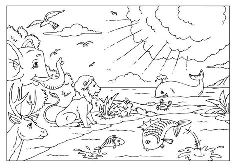 coloring pages creation earth creation coloring pages coloring home