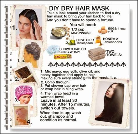 label  diy hair treatments  dry damaged hair