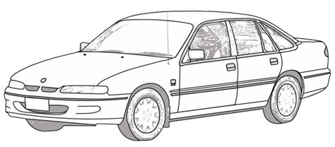 coloring pictures of holden cars holden commodore 1993 1997 vr vs aerpro