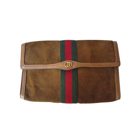 Clutch Bag 1 gucci classic suede clutch bag 60s at 1stdibs