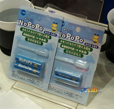 Presenting The Urine Powered Battery by Nopopo Batteries Hey I See Urine My Battery Technabob