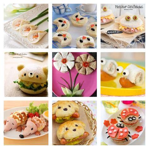 creative ideas 25 creative sandwich ideas that kids will love