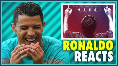 film dokumenter lionel messi cristiano ronaldo reacts to the lionel messi movie