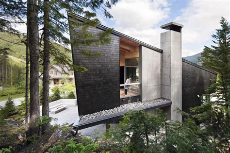house wall unique modern house in forest design stone wall exterior