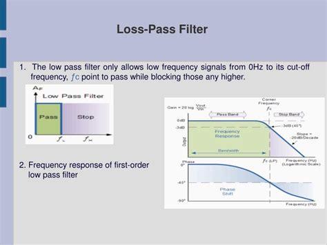 high pass filter ppt ppt low pass filter high pass filter powerpoint presentation id 2823086