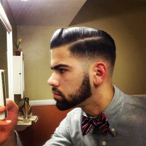 pompadore and beard 15 cool mens fade hairstyles mens hairstyles 2018