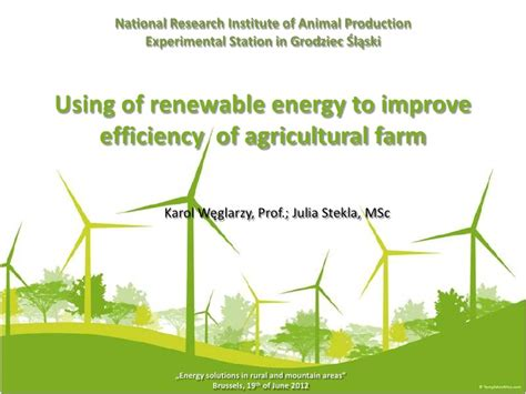 Renewable Energy Boom For Uk Farmers by Renewable Energy In Agriculture