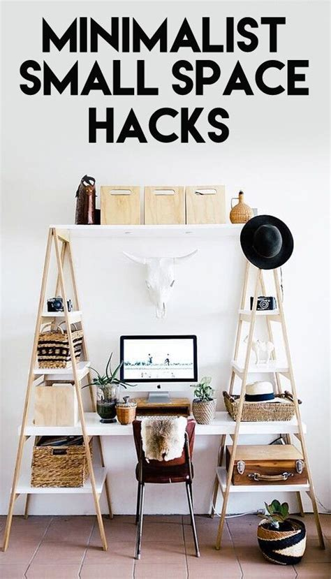 small room hacks refreshingly minimalist small space hacks space hack