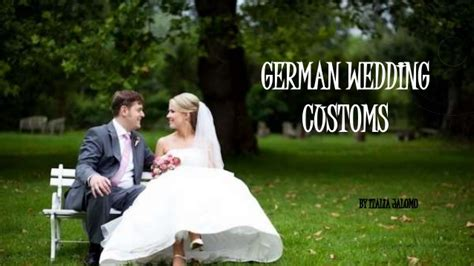 german wedding traditions and customs german wedding traditions