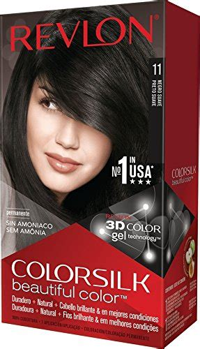 revlon hair dye colors revlon colorsilk beautiful color brown black