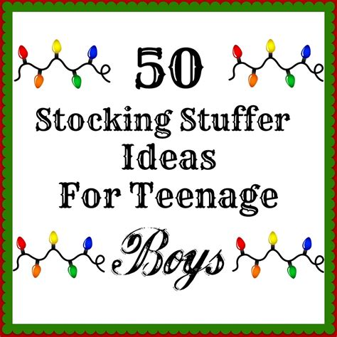great stocking stuffer ideas 50 stocking stuffers for teenage boys terrific list