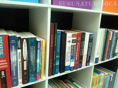 Rak Buku Mini mengemas rak buku untuk mini library bhgn 2 susun atur