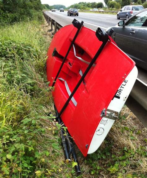 Exeter Roof Racks by Sailing Dinghy Stolen From The Side Of A Motorway Ybw