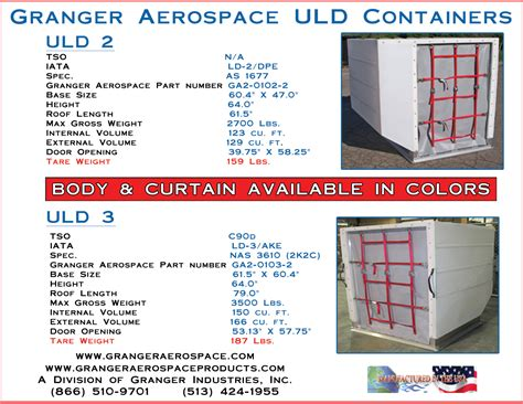 air cargo containers uld containers air containers airline cargo aerospace oem products
