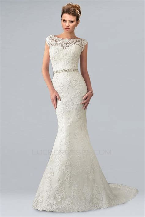 Shoulder Lace Wedding Dress trumpet mermaid the shoulder lace bridal wedding