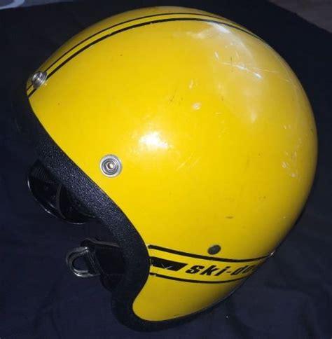 Bell Polaris find vintage polaris wedge snowmobile helmet used