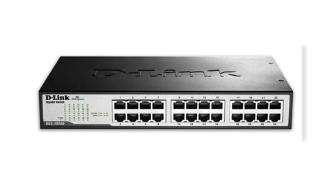 Switch Gigabit 24 Port d link dgs 1024d 24 port gigabit unmanaged desktop rackmount switch
