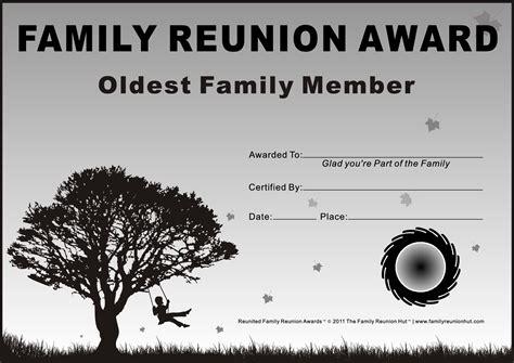 free family reunion templates family reunion