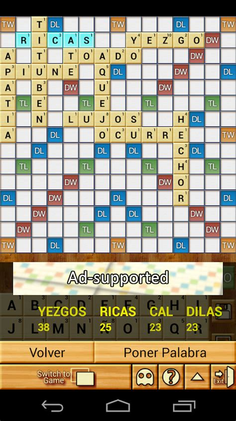 is de a scrabble word word breaker scrabble aplicaciones de android en
