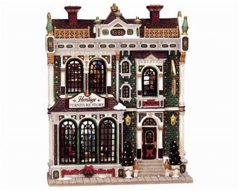 lemax christmas village collection heritage furniture