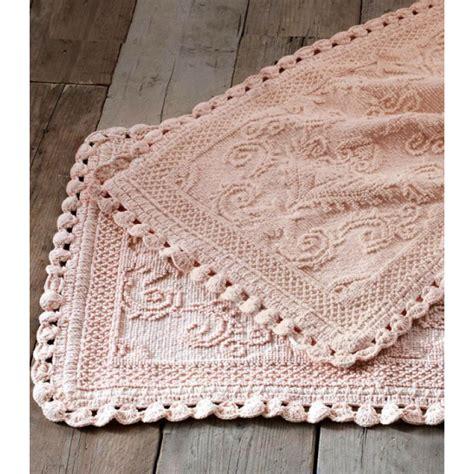 tappeti rosa tappeto blanc maricl 242 50x110 cm rosa jacquard con croquet
