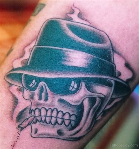 cowboy skull tattoo cowboy tattoos designs pictures page 2