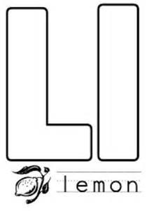letter l template letter l crafts preschool and kindergarten